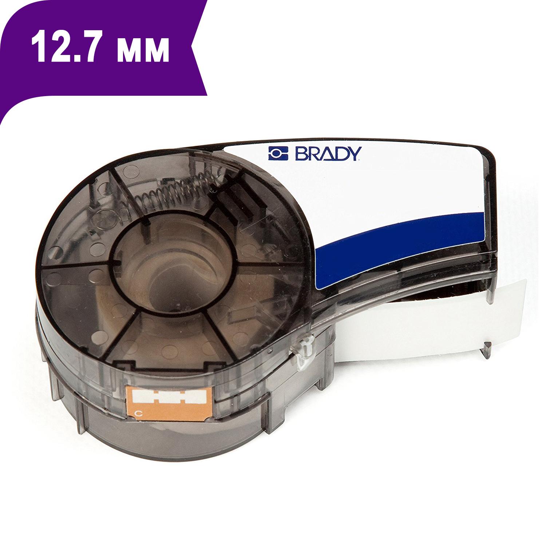 Фото Лента Brady M21-500-595-PL (12.7 мм, белый на фиолетовом) {brd139733}