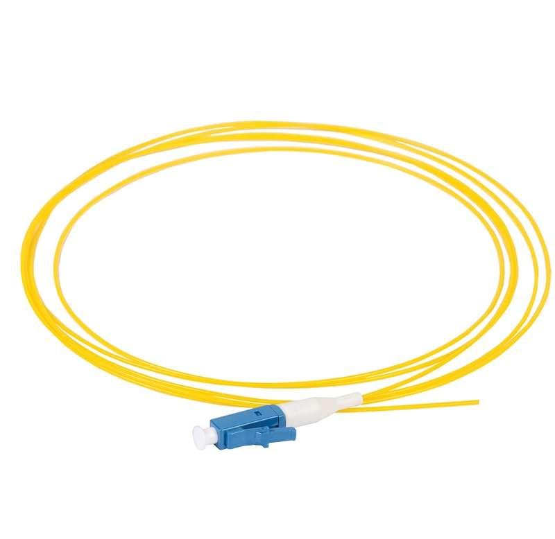 Фото Пигтейл для одномодового кабеля (SM); 9/125 (OS2); LC/UPC; LSZH (дл.1.5м) ITK FPT09-LCU-C1L-1M5