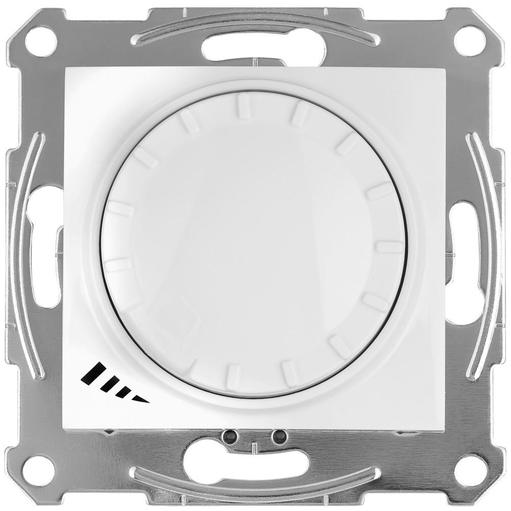 Фото Светорегулятор SEDNA LED повор-наж., прхдн, универс., 4-400 Вт, белый {SDN2201221}