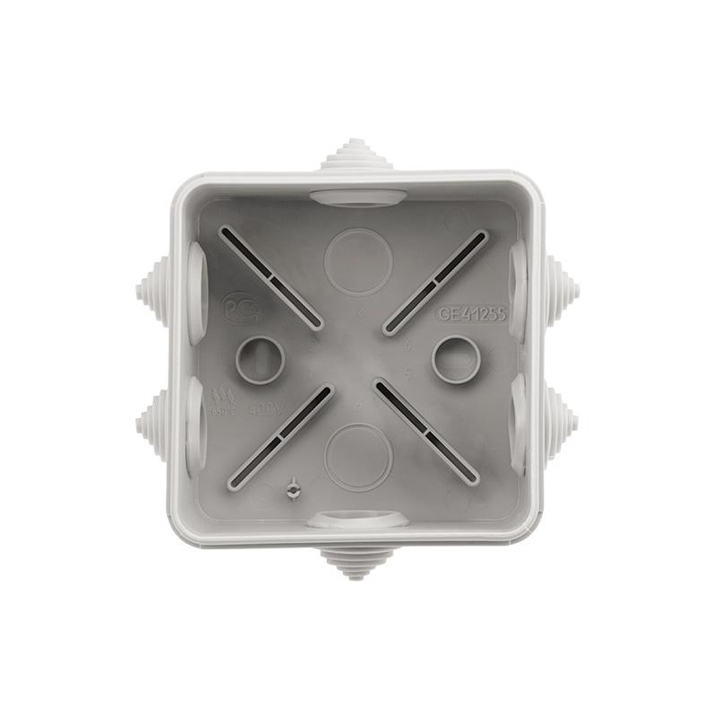 Фото Коробка распаячная Rexant, ОУ 100x100x50 мм, винт IP44, {28-3058} (1)