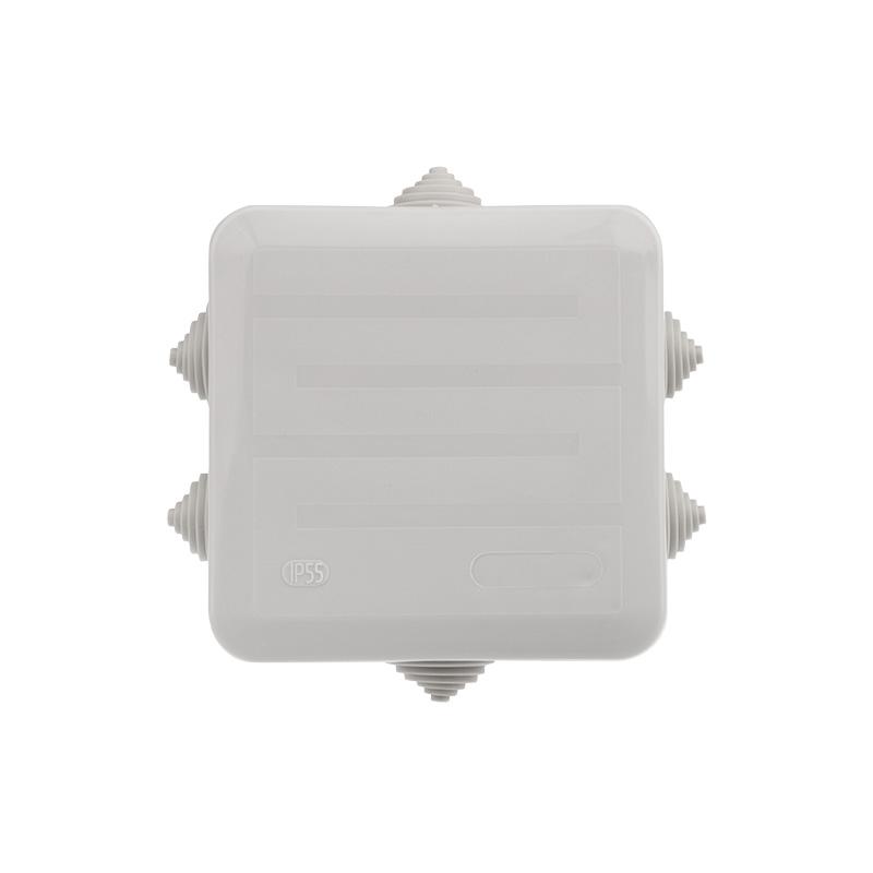 Фото Коробка распаячная Rexant, ОУ 100x100x50 мм, винт IP44, {28-3058} (2)