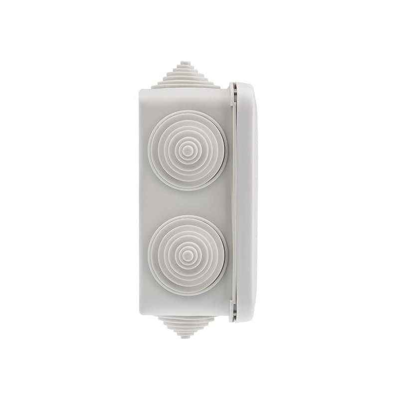Фото Коробка распаячная Rexant, ОУ 100x100x50 мм, винт IP44, {28-3058} (3)