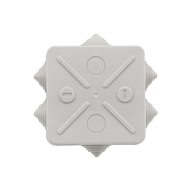 Фото Коробка распаячная Rexant, ОУ 100x100x50 мм, винт IP44, {28-3058} (5)