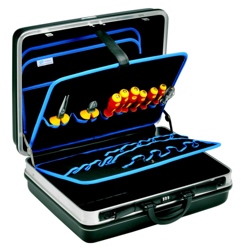 Фото Набор монтажных инструментов Klauke в чемодане (12 предметов) {klkKL850BS}