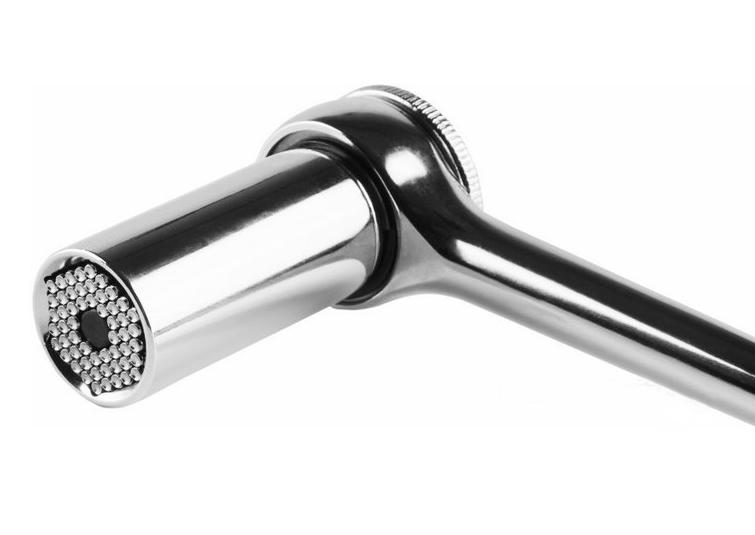 Фото Универсальный торцевой ключ Rexant с трещоткой 7-19 мм {12-6080} (3)