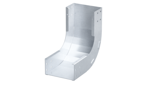 Фото Угол для лотка вертикальный внутренний 90град. 80х400 R300 1.5мм нерж. сталь AISI 304 DKC ILIM3840C
