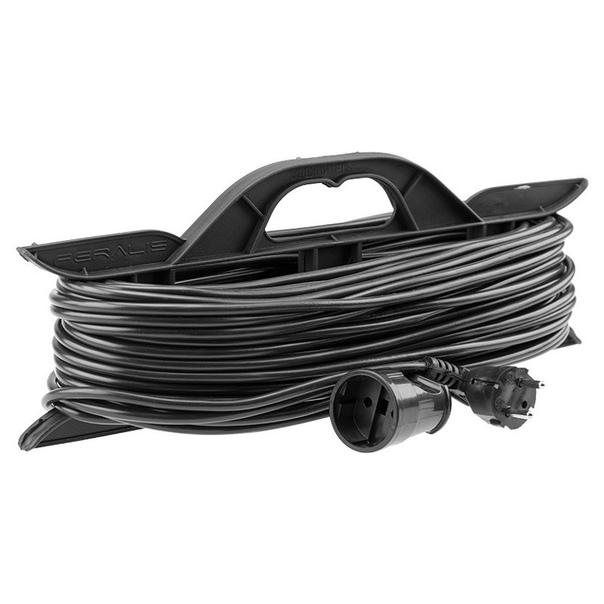 Фото Удлинитель-шнур на рамке Rexant КГ 3х1.5, 20 м, морозостойкий, с/з, 16 А, 3500 Вт, IP44 {11-7078}