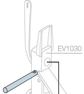 Фото Ручка для шкафов IS2 ABB EV1030