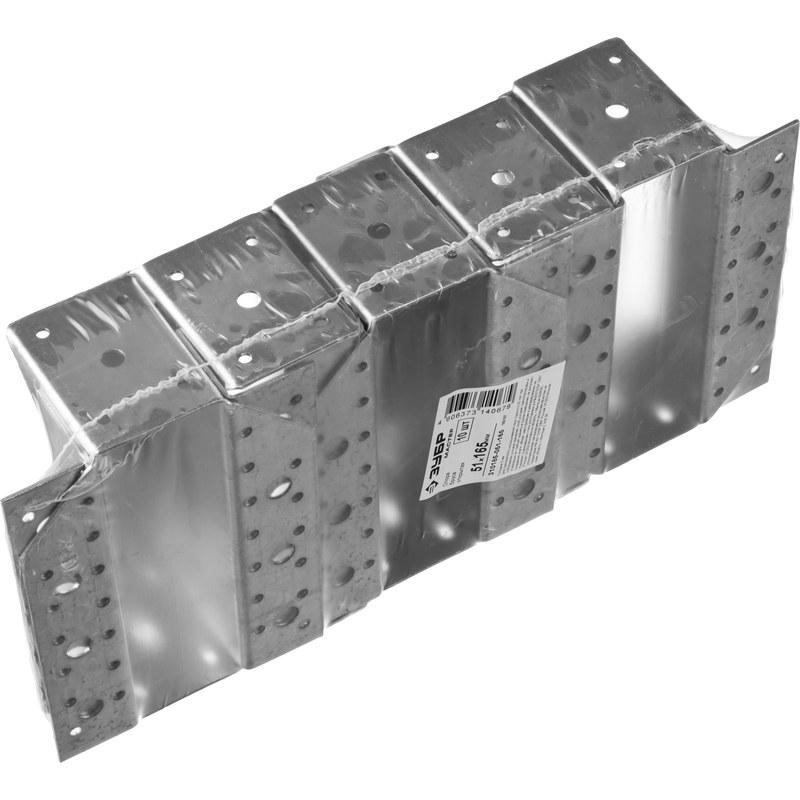 Фото Крепление балки открытое КБО-2.0, 80х150 х 2мм, ЗУБР {310186-080-150} (4)