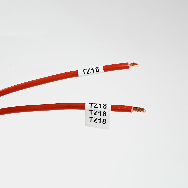 Фото Этикетки Brady BM71-11-499 (TLS/HM BPTL-11-499) (нейлоновая ткань, 12.7 х 19.05 мм) {brd114880} (2)