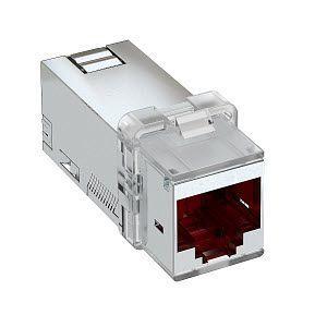 Фото Модуль телекоммуникационный кат. 6A экран. ASM-C6A G OBO 6117346 (1)