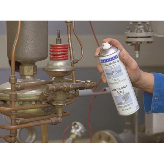 Фото Определитель утечки газа Weicon Leak Detection Spray (спрей, 400 мл) {wcn11651400} (1)