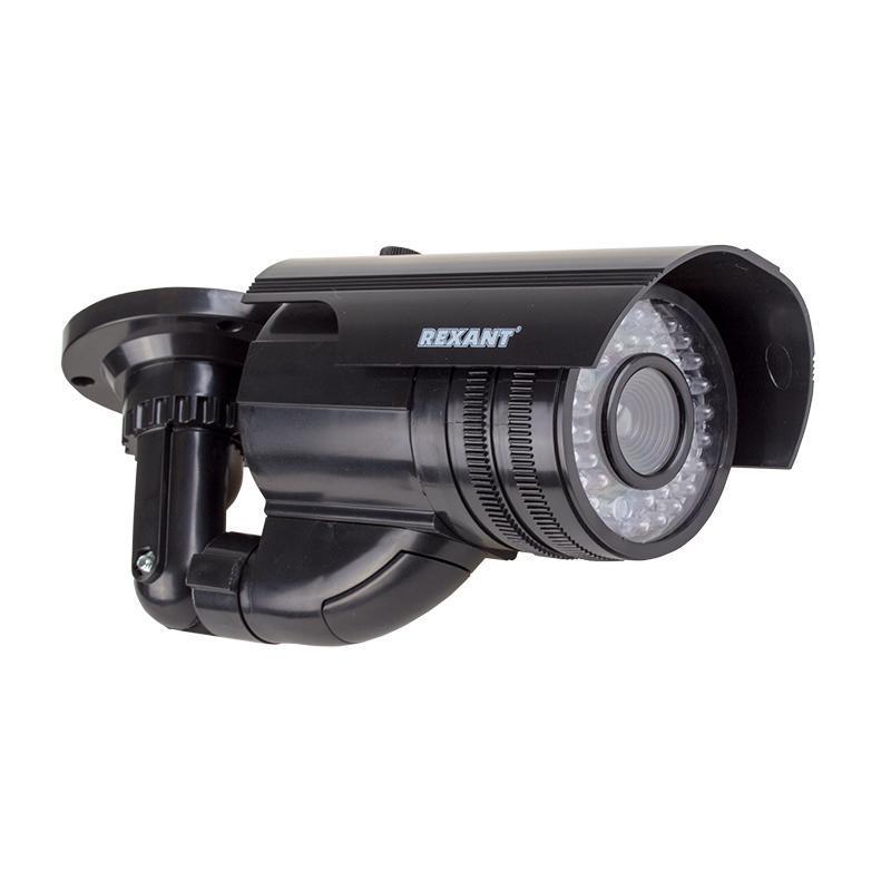 Фото Муляж цилиндрической видеокамеры Rexant, уличной установки {45-0250}