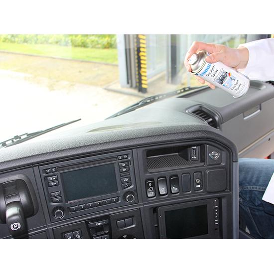 Фото Средство Weicon Cockpit-Spray по уходу за пластиком (авто) (спрей 400 мл) {wcn11400400} (1)