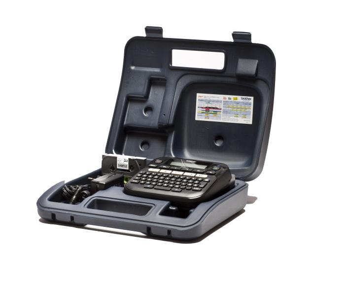 Фото Термотрансферный принтер для печати этикеток Brother PT-D210VP {PTD210VPR1}