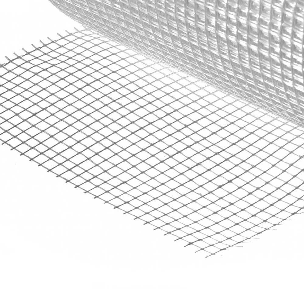Фото Серпянка самоклеящаяся (сетка малярная) FIBER-Tape, 10 см х 20м, STAYER Professional 1246-10-20 (1)