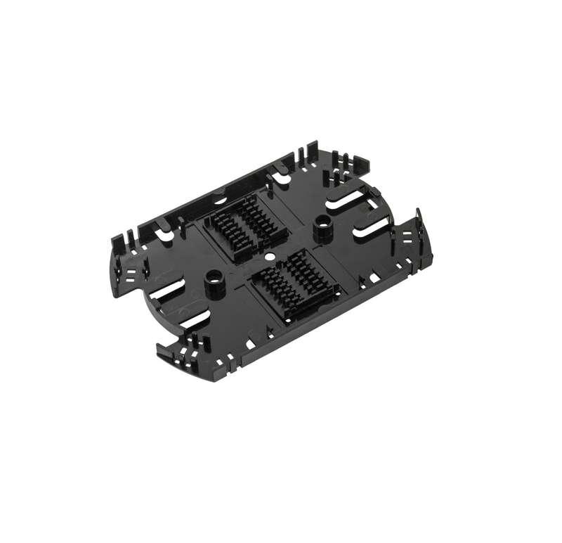 Фото Сплайс-кассета до 32 КДЗС с органайзером АБС-пластик черн. NIKOMAX NMF-SPL32-WO