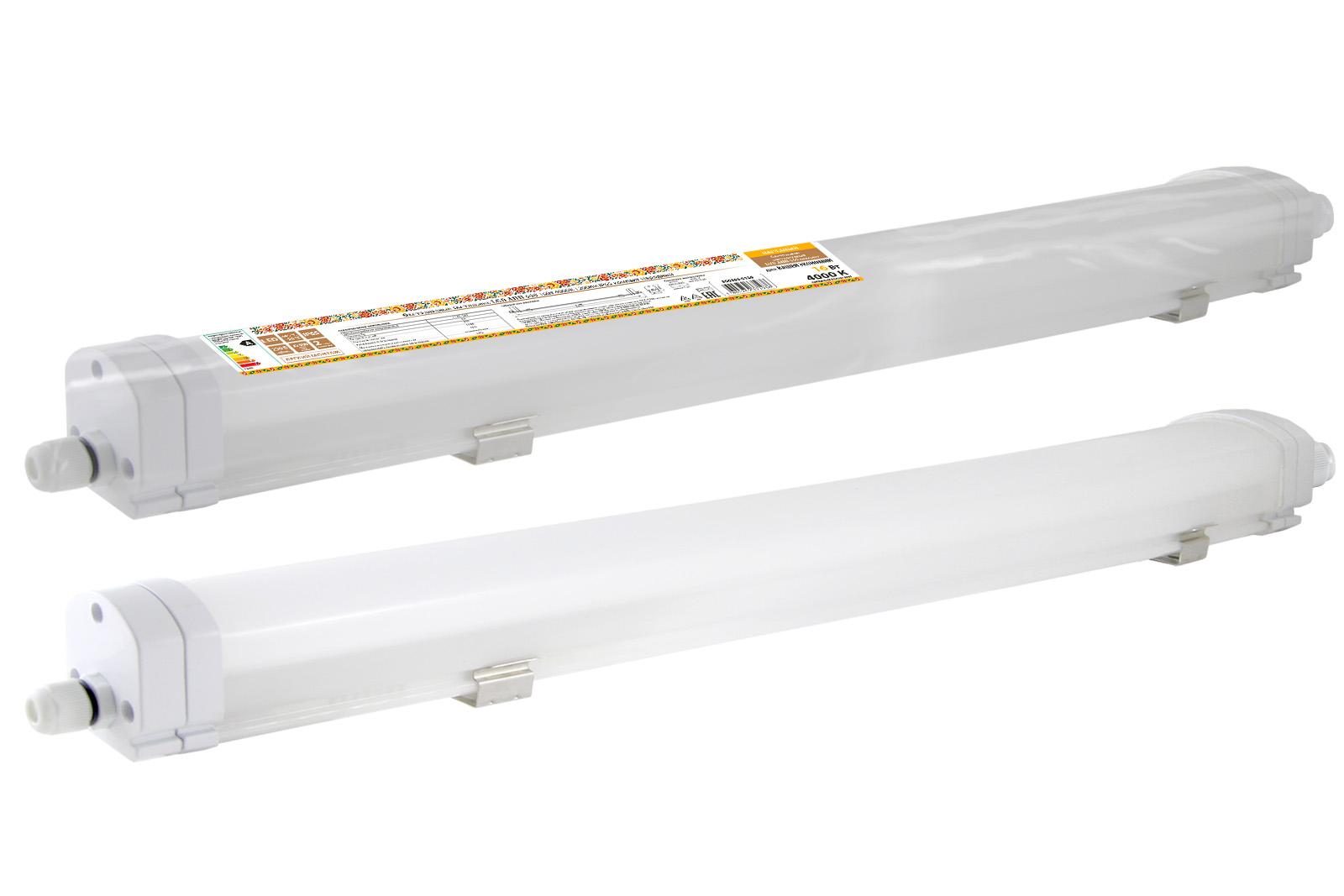 Фото Светодиодный светильник LED ДПП 600 16Вт 4000К 1200лм IP65 компакт  Народный {SQ0366-0126}