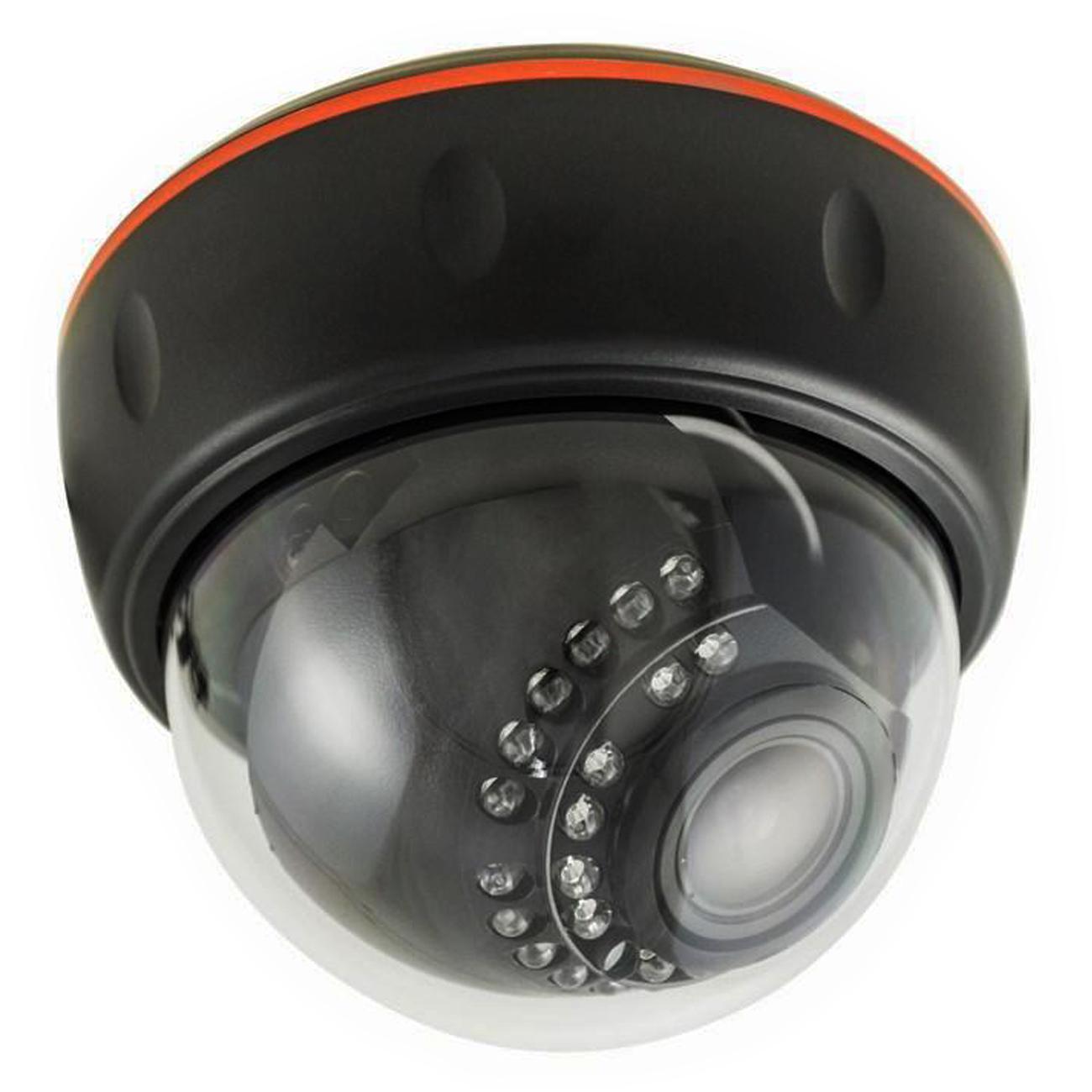 Фото Купольная IP видеокамера Rexant 4 Мп, ИК 30 м, PoE {45-0372}