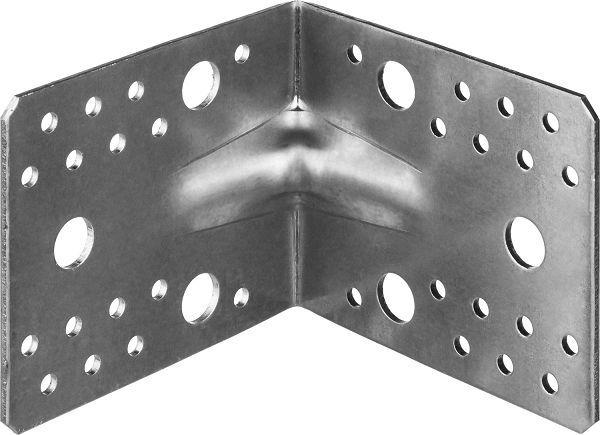 Фото Уголок крепежный усиленный УКУ-2.5, 90х105х105 х 2.5мм, ЗУБР {31011-105}