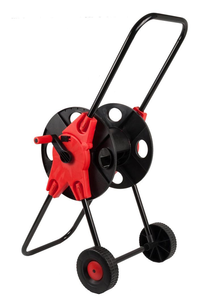 "Фото Катушка для садового шланга Quattro Elementi малая, с колесами (шланг 1/2"" - до 45 м, 3/4"" - 30 м) {772-203} (2)"