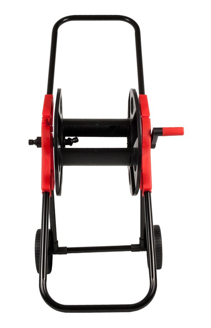 "Фото Катушка для садового шланга Quattro Elementi малая, с колесами (шланг 1/2"" - до 45 м, 3/4"" - 30 м) {772-203} (3)"