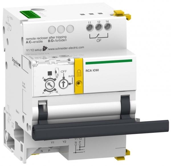 Фото Acti 9 RCA мотор-редуктор для автоматов iC60 1P, 1P+N, 2P c интерфейсом Ti24 {A9C70122}