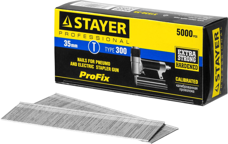 Фото STAYER 35 мм гвозди для нейлера тип 300, 5000 шт {31530-35} (2)