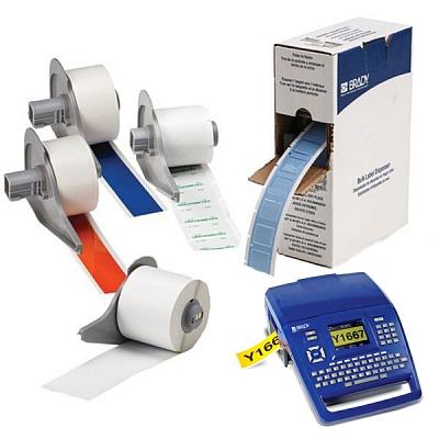 Фото BM71C-1000-854-WT Полиэстер ToughWash, чувствительный к металлодетекторам. Цвет белый. Ширина 25.40 {brd711255}