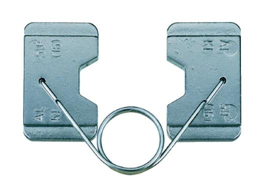 """Фото Матрица серии """"18"""" для алюминиевых соединителей 50 мм² для натяжных соединений (шестигранник) {klkAD50}"""