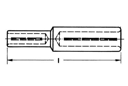 Фото Медно-алюминиевые соединители Klauke Al - 185 мм² (240 мм² для сплошных жил) / Cu - 70 мм² {klk331R70} (1)