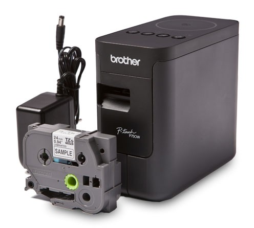 Фото Принтер для печати этикеток Brother PT-P750W {PTP750WR1} (1)