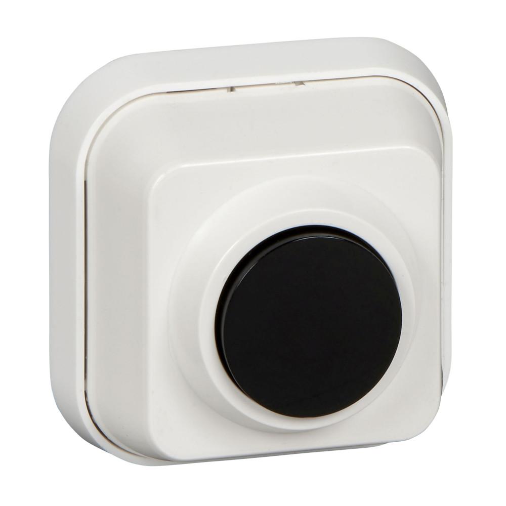 Фото Выключатель кнопочный о/у (250в, 0,4а, для эл./звонков) {A10-4-011}