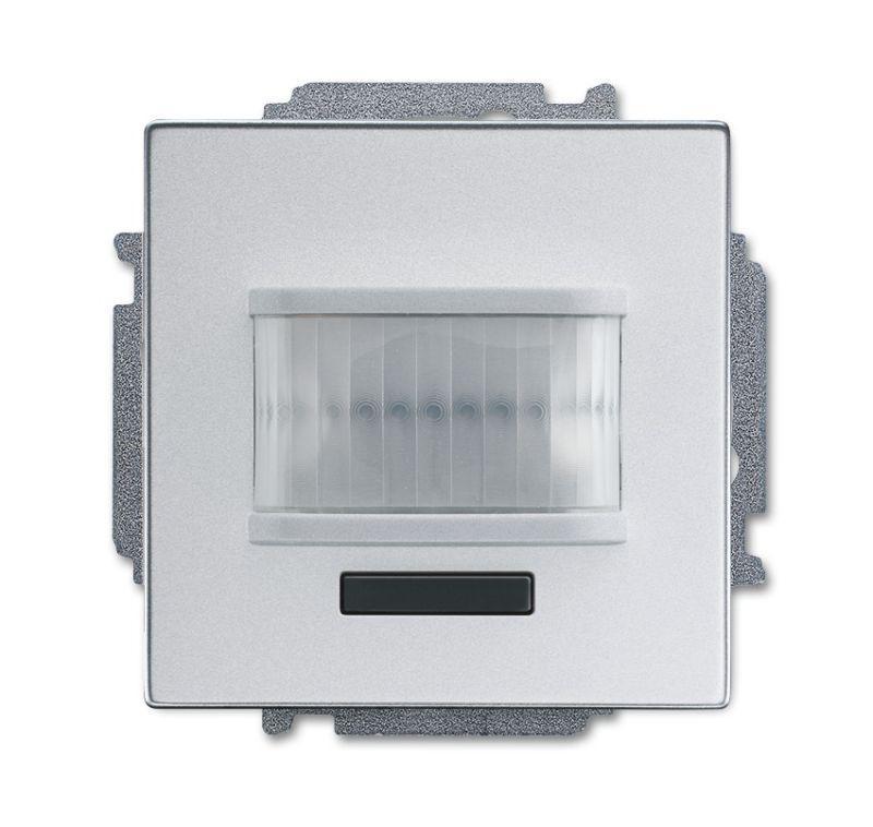 Фото Датчик движения/активатор выключателя free@home; 1-кан.; беспроводной; MSA-F-1.1.1-83-WL solo/future; серебр. алюм. ABB 2CKA006200A0085
