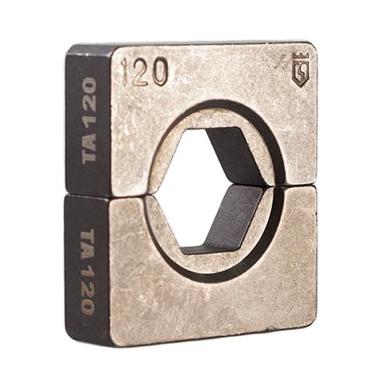 Фото Набор матриц НМ-300 ТА для опрессовки алюминиевых и алюмомедных наконечников по ГОСТ (10 шт.) {61034}