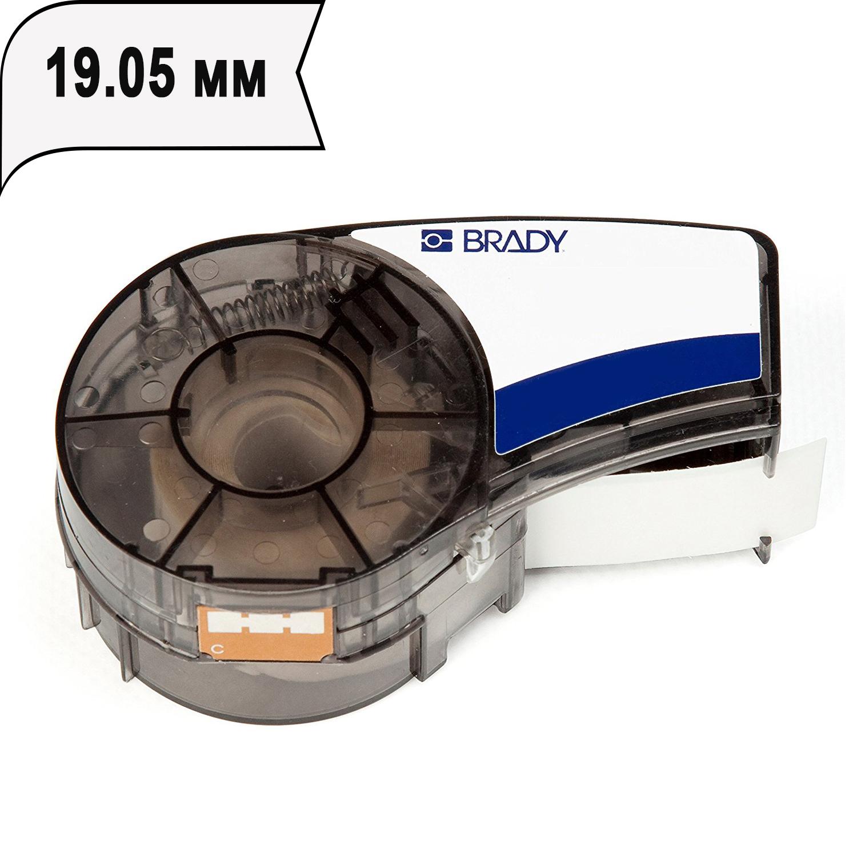 Фото Лента Brady M21-750-430 (PAL-750-430) (19.05 мм, черная на прозрачном) {brd110901}
