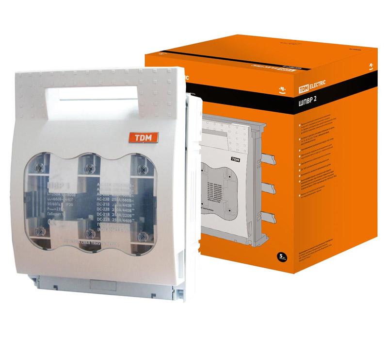 Фото Шинный выключатель-разъединитель с функцией защиты ШПВР 2 3П 400A TDM {SQ0726-0007} (1)