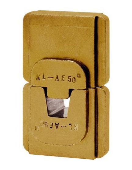 """Фото Матрица серии """"5"""" для втулочных наконечников 25 мм² (трапеция) {klkHAE525}"""