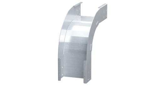 Фото Угол для лотка вертикальный внешний 90град. 100х100 0.8мм нерж. сталь AISI 304 в комплекте с крепеж. эл. DKC ISOL1010KC
