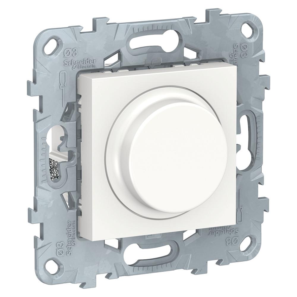 Фото Светорегулятор UNICA NEW LED повор-наж, универсальный 5-200вт, белый {NU551418}