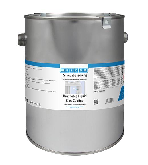 Фото Защитное покрытие Weicon Brushable Zinc Coating, цинк (2.5 л) {wcn15001902}