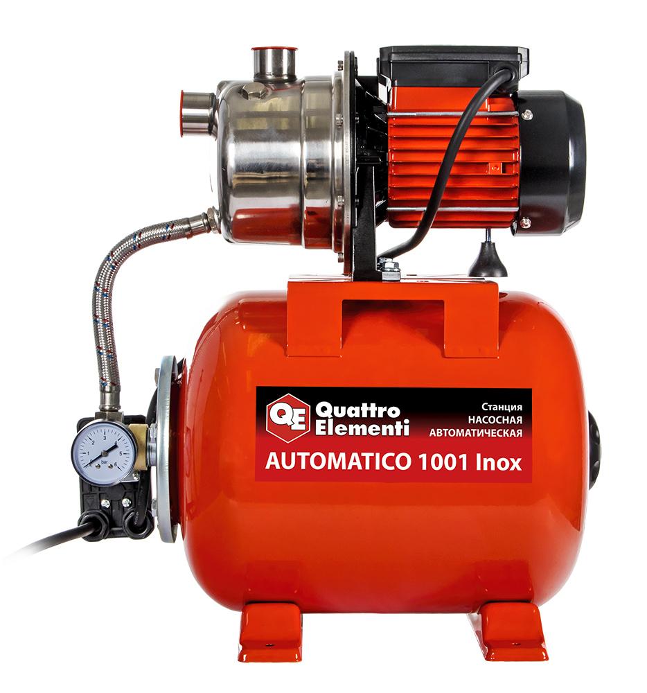 Фото Насосная станция Quattro Elementi Automatico 1001 Inox (1000 Вт, 3600 л/ч, для чистой, 40 м, 10,2 кг) {910-218} (4)