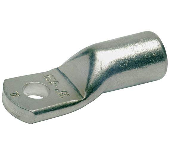 Фото Наконечник ТМЛ облегченный стандарт Klauke с узкой контактной площадкой, сечение 50 мм² под болт М10, с контрольным отверстием {klk6SG10MS}