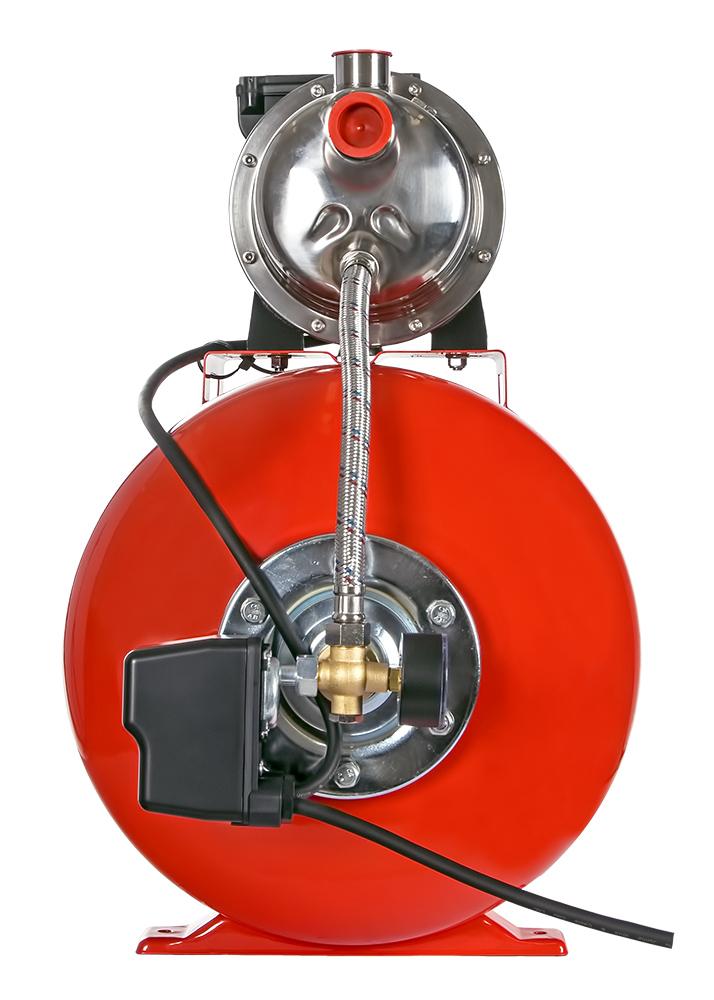 Фото Насосная станция Quattro Elementi Automatico 1001 Inox 50 L (1000 Вт, 3600 л/ч, для чистой, 40 м, 14,2 кг) {910-225} (4)