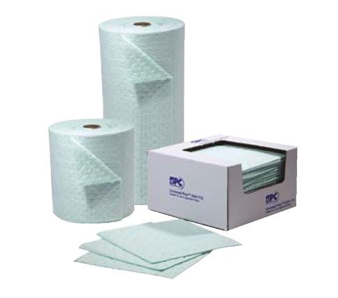 Фото Впитывающие салфетки UN100-E для химических реагентов, 41 x 51 см, 88 литров (100 шт.) {spc813842}