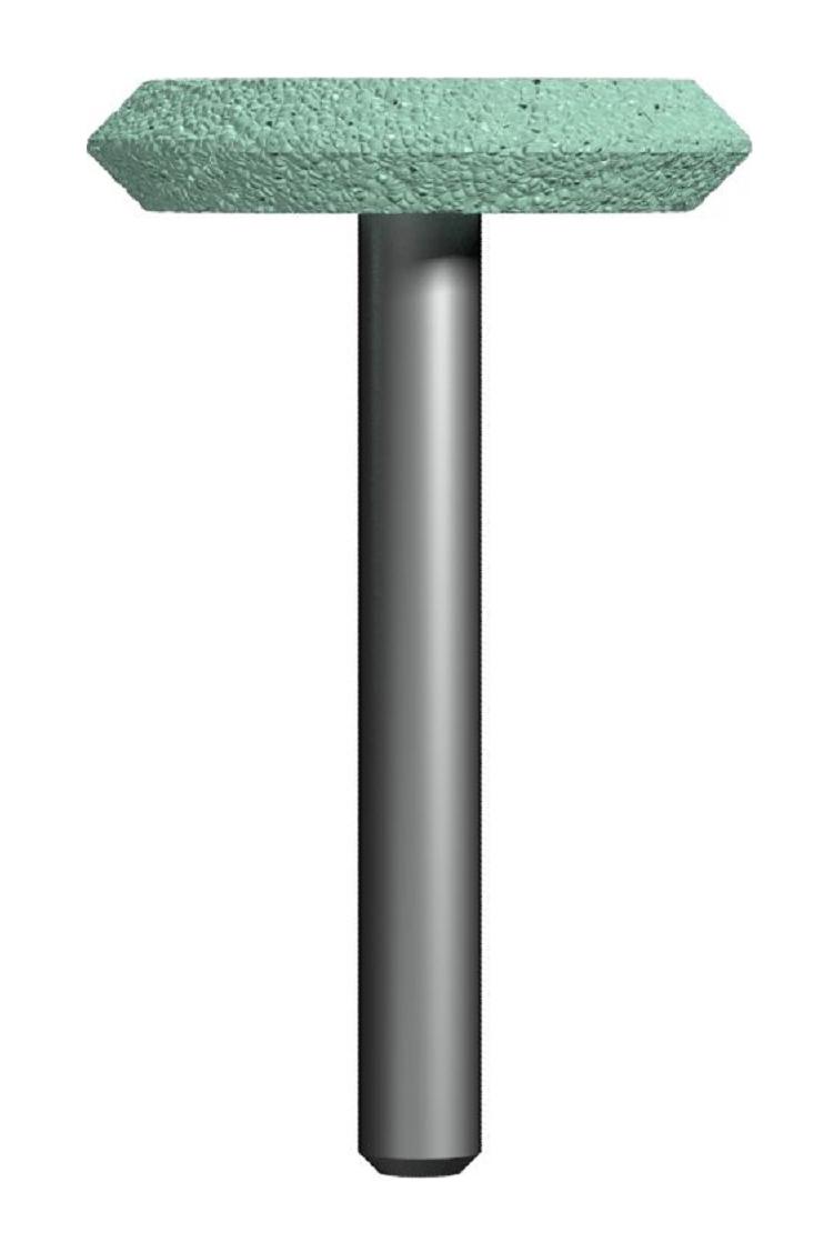 Фото Шарошка абразивная Практика, дисковая 32х6 мм {641-398}
